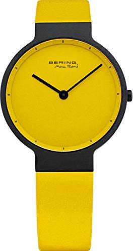 Bering Time Max Rene UltraSlim Gelbes Ziffernblatt 12631 827
