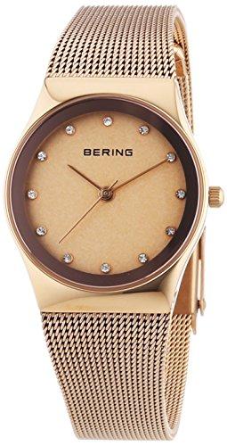 Bering Time XS Analog Quarz Edelstahl beschichtet 12927 366
