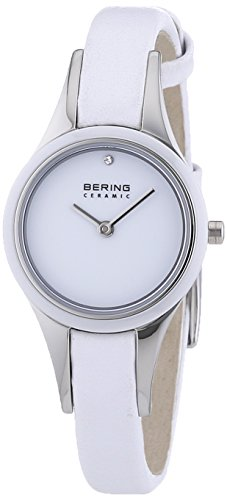 Bering Time XS Ceramic Analog Quarz Leder 33125 654