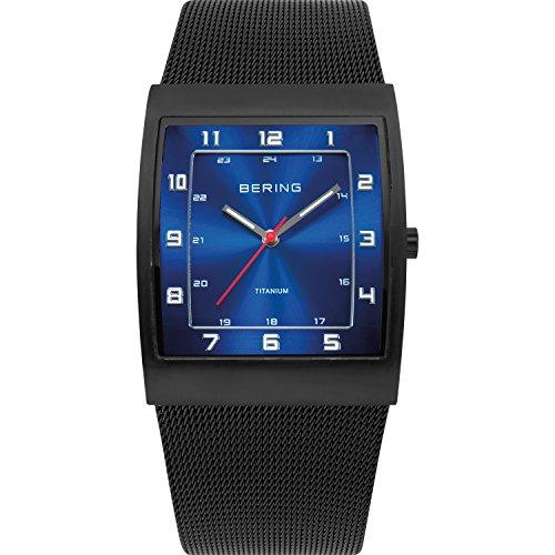 Bering Time XS Titanium Analog Quarz Edelstahl 11233 227