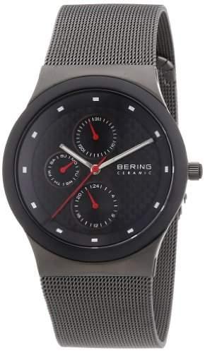BERING Time Herren-Armbanduhr Slim Ceramic Analog Quarz 32139-309