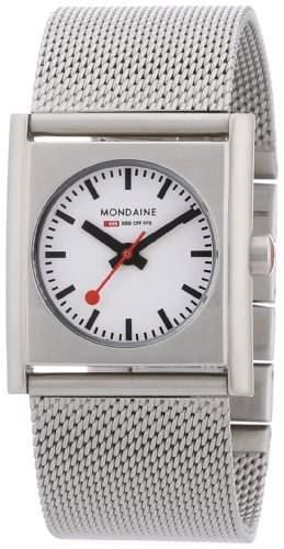 Mondaine Herren-Uhren Quarz Analog A6583032016SBM