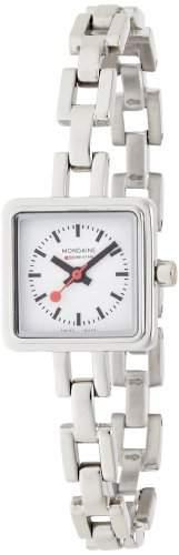 Mondaine Herren-Uhren Quarz Analog A6663033911SBM