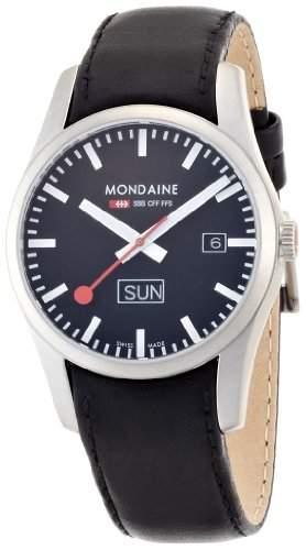 Mondaine Herren-Uhren Quarz Analog A6673034014SBB