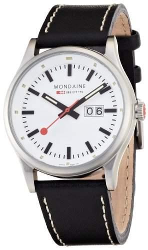 Mondaine Herren-Uhren Quarz Analog A6693030816SBB