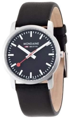 Mondaine Herren-Uhren Quarz Analog A6723035114SBB