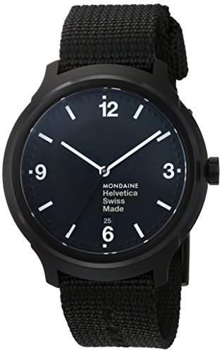 Mondaine Helvetica No1 Bold Armbanduhr - MH1B1221NB
