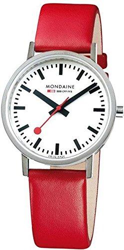 Mondaine Classic Bahnhofsuhr A660 30314 11SBC S mit Saphirglas
