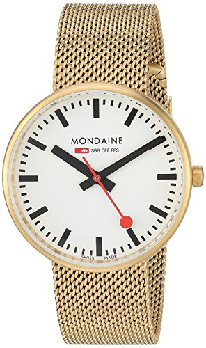 Mondaine Quarzuhr Unisex Mini Giant 35 mm