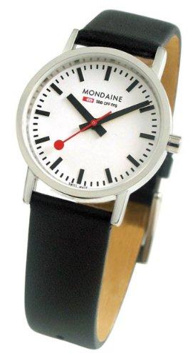 NEU Original MONDAINE Damenarmbanduhr im Design der original Schweizer Bahnhofsuhr Mondaine Classic 30mm A658 30323 11SBB