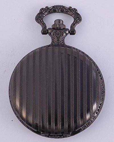 Classix Analog Taschenuhr Leder 47 mm Schwarz RP2607200031