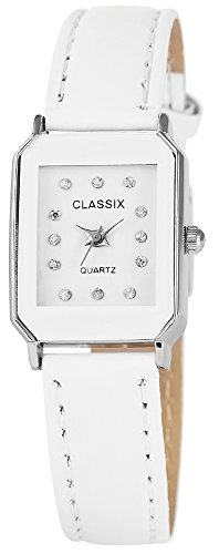 Classix mit Lederimitationsarmband Uhr Armbanduhr RP1262200005