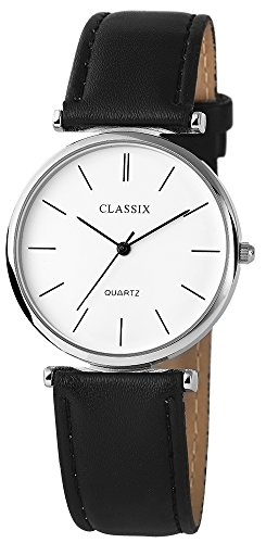 Classix mit Lederimitationsarmband Uhr Armbanduhr RP4782200016