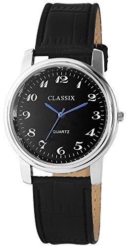 Classix mit Lederimitationsarmband Uhr Armbanduhr RP4782100017