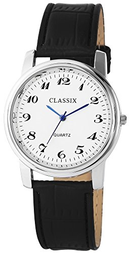 Classix mit Lederimitationsarmband Uhr Armbanduhr RP4782200017