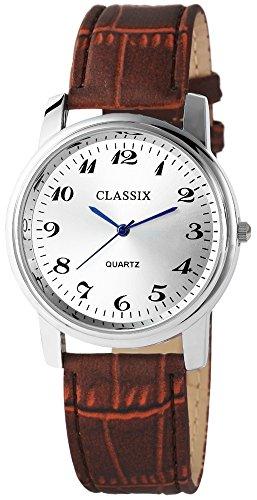 Classix mit Lederimitationsarmband Uhr Armbanduhr RP4782250017
