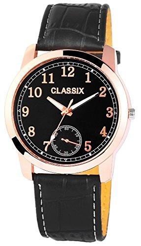 Classix mit Lederimitationsarmband Uhr RP4783100004