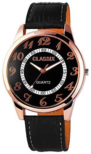 Classix mit Lederimitationsarmband Uhr RP4783100005