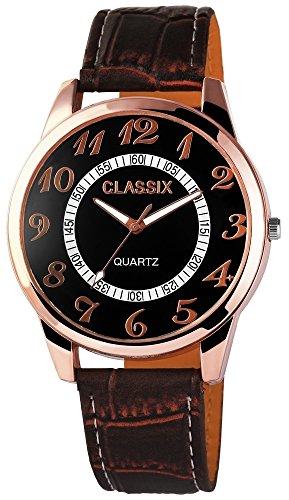 Classix mit Lederimitationsarmband Uhr RP4783110005