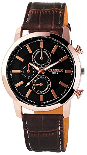 Classix mit Lederimitationsarmband Uhr RP4783110006