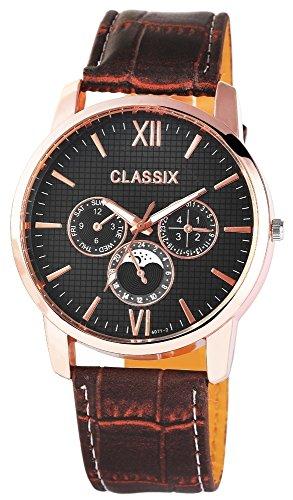 Classix mit Lederimitationsarmband Uhr RP4783110008