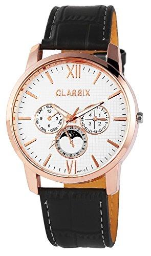 Classix Herrenuhr mit Lederimitationsarmband Uhr RP4783250008