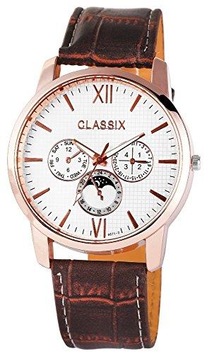 Classix mit Lederimitationsarmband Uhr RP4783260008
