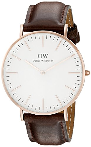Daniel Wellington Analog Quarz Leder DW00100009