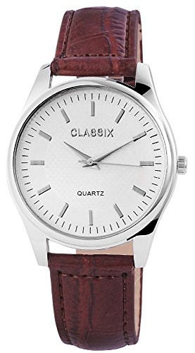 Classix Armbanduhr Kunstlederarmband 24cm Dornschliesse RP4782260012