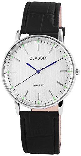Classix Armbanduhr Kunstlederarmband 23cm Dornschliesse RP4782260022