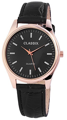 Classix Armbanduhr Kunstlederarmband 24cm Dornschliesse RP4783100012