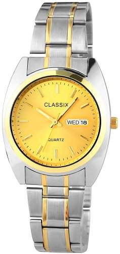 Classix Herren-Armbanduhr XL Analog Quarz Alloy RP7121400001