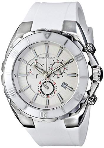 Oceanaut Herren OC5121 Seville Analog Display Quartz White Armbanduhr