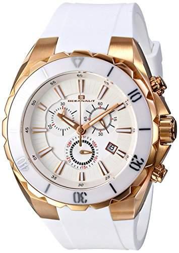 Oceanaut Herren OC5123 Seville Analog Display Quartz White Armbanduhr