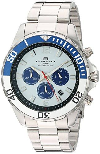 Oceanaut Armbanduhr Analog Quarz Edelstahl OC2521 White Silver