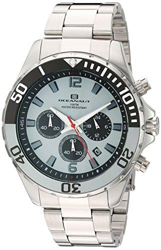 Oceanaut Armbanduhr Analog Quarz Edelstahl OC2523 Grey Silver