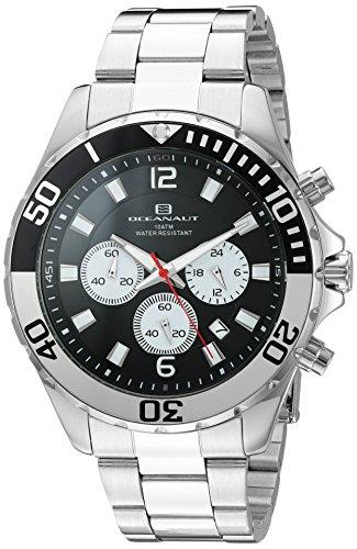 Oceanaut Armbanduhr Analog Quarz Edelstahl OC2524 Black Silver