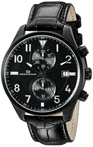 OCEANAUT HERREN oc4322 Rally Analog Display Quartz Black Watch