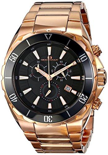 Oceanaut Mens OC5126 Seville Analoge Anzeige Quartz Rose Gold Watch