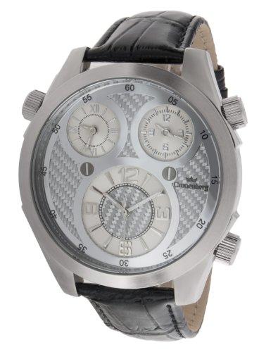 Cronenberg Herren Armbanduhr Analog Quarz Leder Schwarz 12072W1 CB