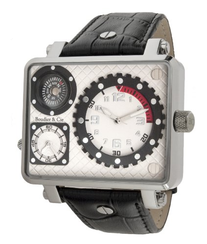 Boudier Cie XL Cosmos Automatic Collection Analog Automatik Leder OZG1133