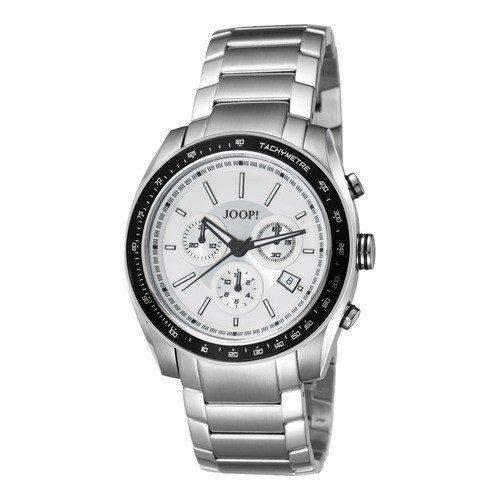 Joop! Herren-Armbanduhr XL Analog Quarz Edelstahl JP100431005U