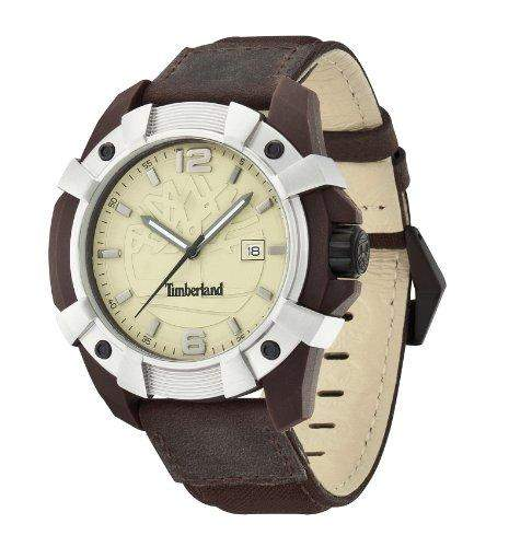 Timberland Herren-Armbanduhr XL CHOCORUA Analog verschiedene Materialien TBL13326JPBNS-07