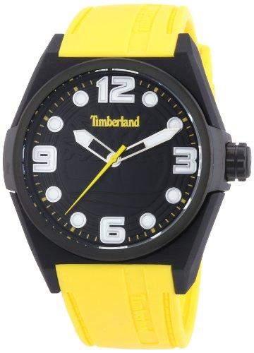 Timberland Herren-Armbanduhr XL Analog Quarz Silikon TBL13328JPB02