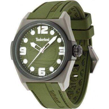 Timberland Herren-Armbanduhr XL Analog Quarz Silikon TBL13328JPGYB19