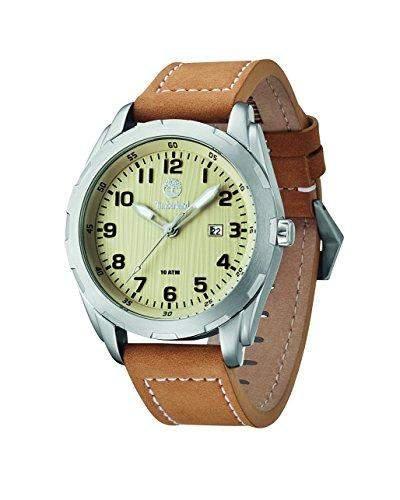 Timberland Herren-Armbanduhr Analog Quarz Leder 13330XS07