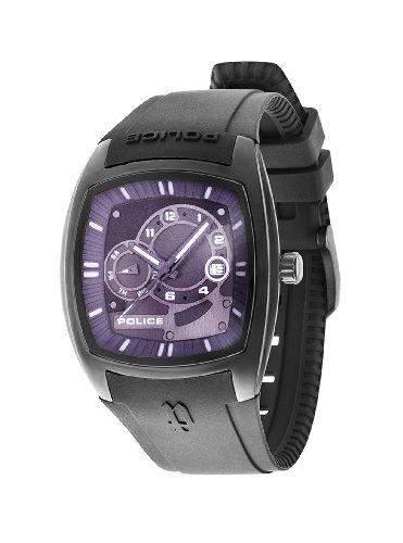 Police Herren-Armbanduhr TORQUE Analog Quarz Plastik P13547JSB-61
