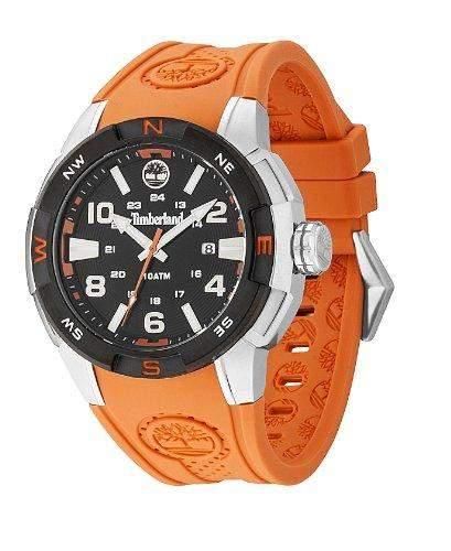 Timberland Herren-Armbanduhr XL Analog Quarz Silikon TBL13849JSTB02