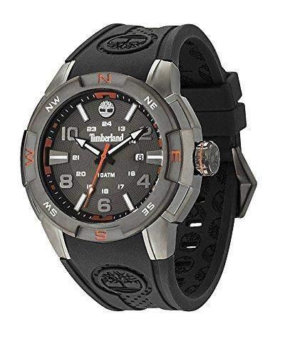 Timberland Herren-Armbanduhr XL Analog Quarz Plastik TBL13849JSU61