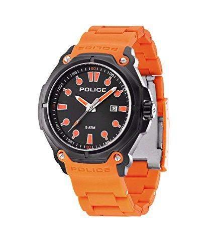 Police Herren-Armbanduhr Analog Quarz Plastik PL13939JSB02